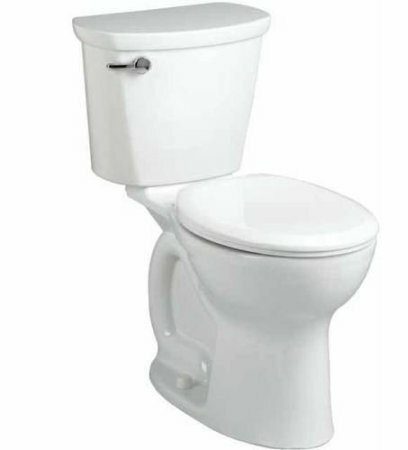 Cadet Pro Right Height 1.28 GPF Round Two-Piece Toilet by American Standard