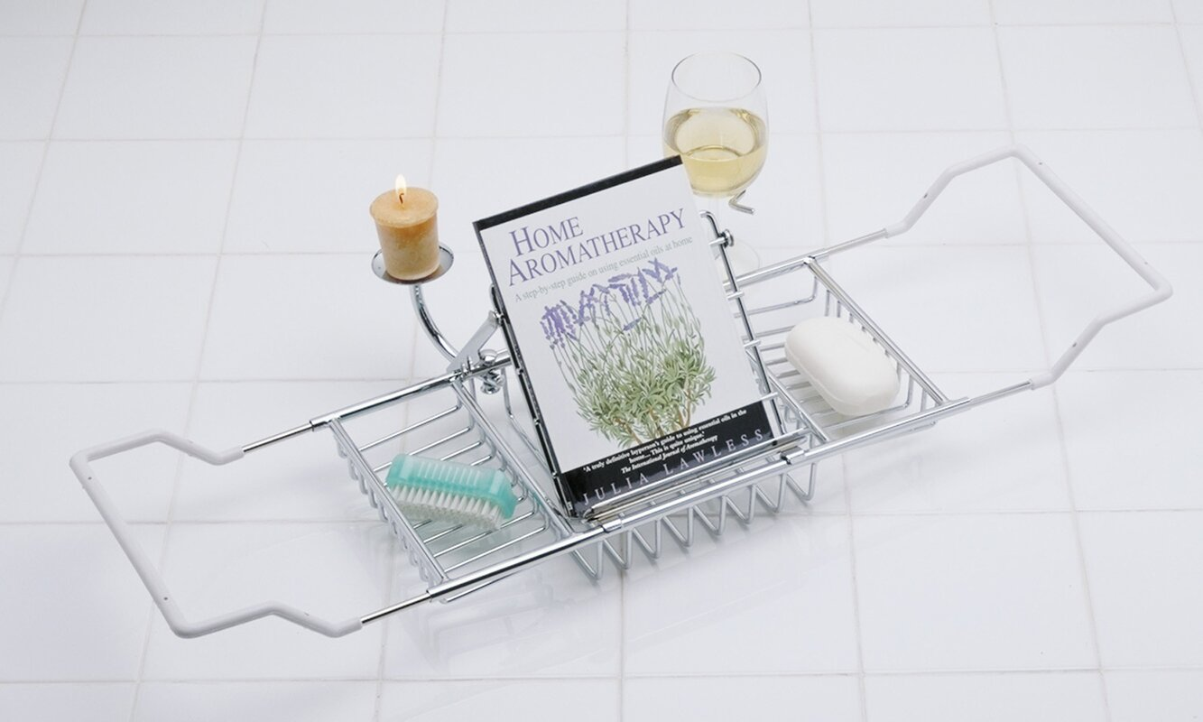 Wildon Home ® Aromatherapy Bath Caddy & Reviews | Wayfair