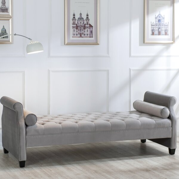 Deckard Upholstered Bench by Rosdorf Park