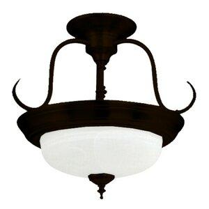 Barnesville 2-Light Semi Flush Mount