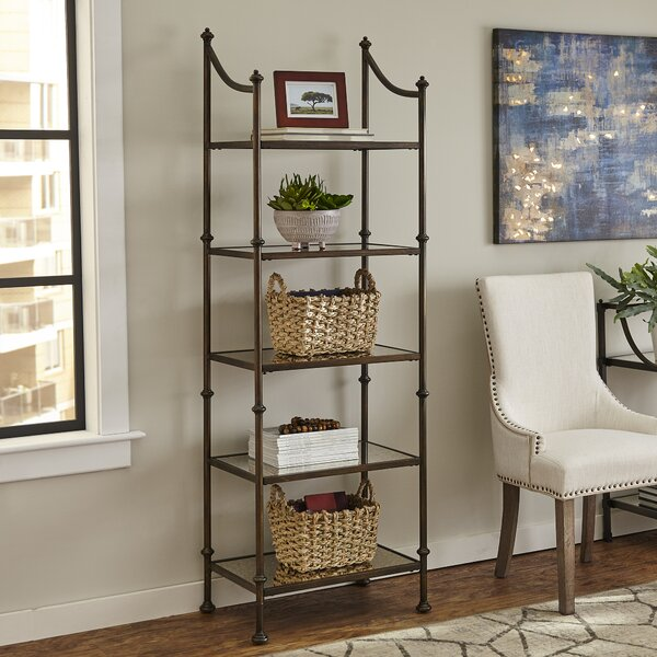 Crespo Etagere Bookcase by Alcott Hill