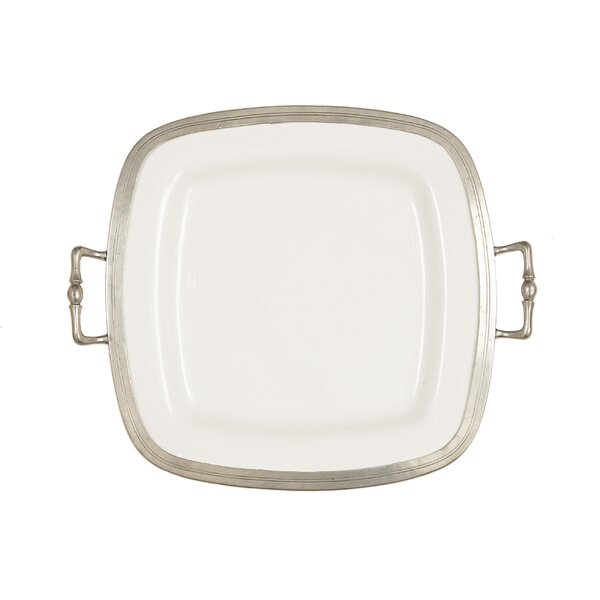 Tuscan Square Serving Tray by Arte Italica