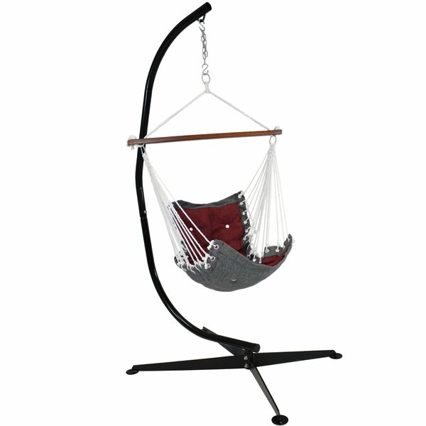 Stafford Tufted Victorian Chair Hammock with Stand by Freeport Park