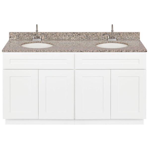 Strawbridge 60 Double Bathroom Vanity Set by Winston Porter