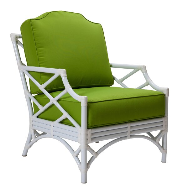 Chippendale Patio Chair with Cushions by David Francis Furniture