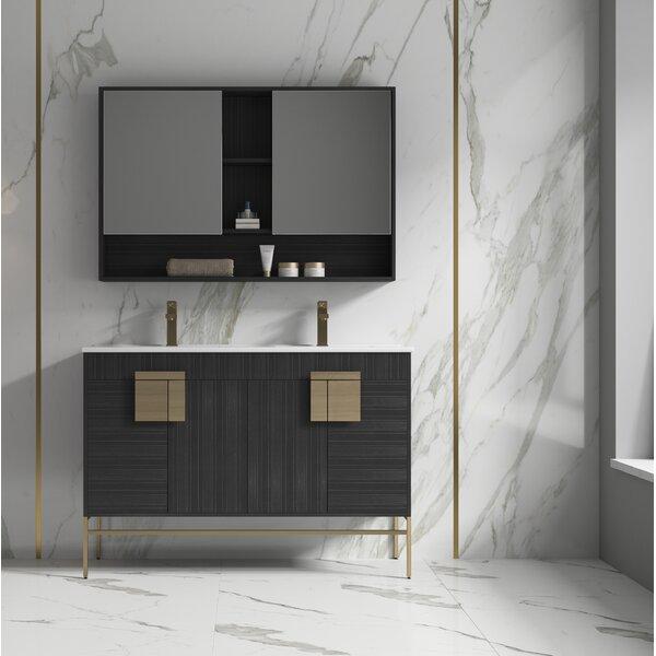 Carmona 48 Double Bathroom Vanity Set
