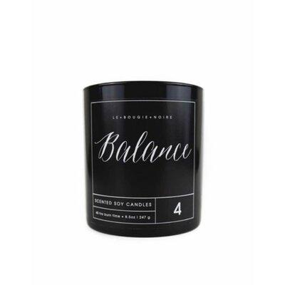 LA BOUGIE NOIRE HOME FRAGRANCES Balance Scented Jar Candle Ounces: 18 oz.