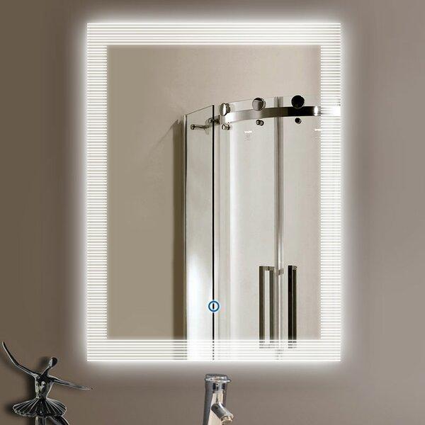 Silliman Modern & Contemporary Lighted Bathroom/Vanity Mirror