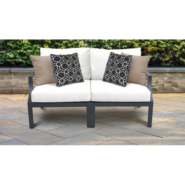 Benner Loveseat with Cushions by Ivy Bronx