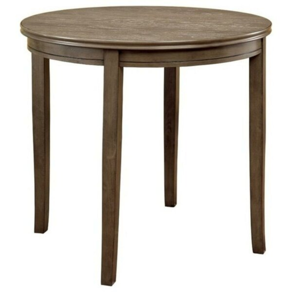 Benham Transitional Solid Wood Dining Table by Bay Isle Home