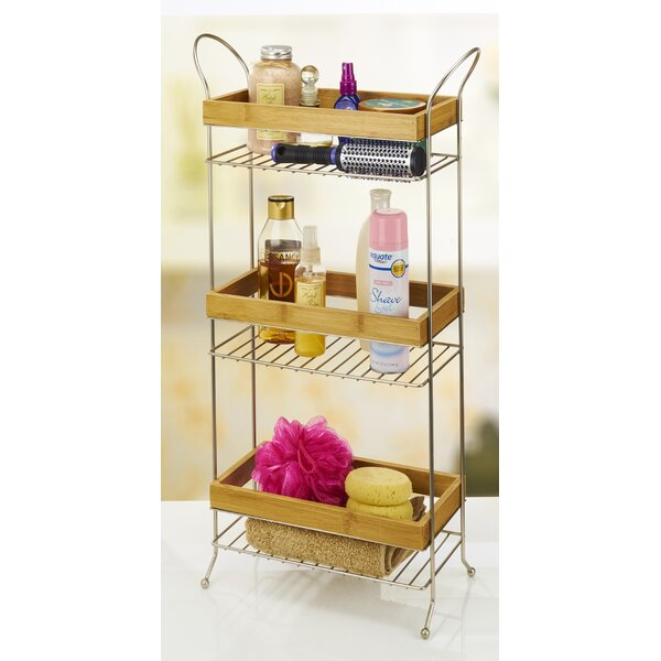 6.5 W x 27.76 H Bathroom Shelf by Laura Ashley Home