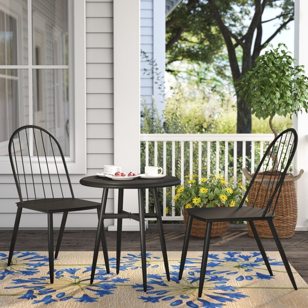 Stella 3 Piece Bistro Set by Novogratz