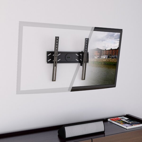 Tilt Wall Mount for 26 - 47 TVs Flat Panel Screens by CorLiving