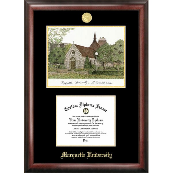 NCAA Marquette University Diploma Picture Frame by Campus Images