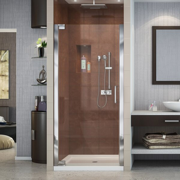 Elegance 29 x 72 Pivot Frameless Shower Door with Clearmax™ Technology by DreamLine