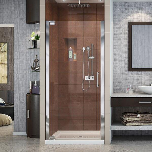 Elegance 29 x 72 Pivot Frameless Shower Door with Clearmax™ Technology by DreamLine