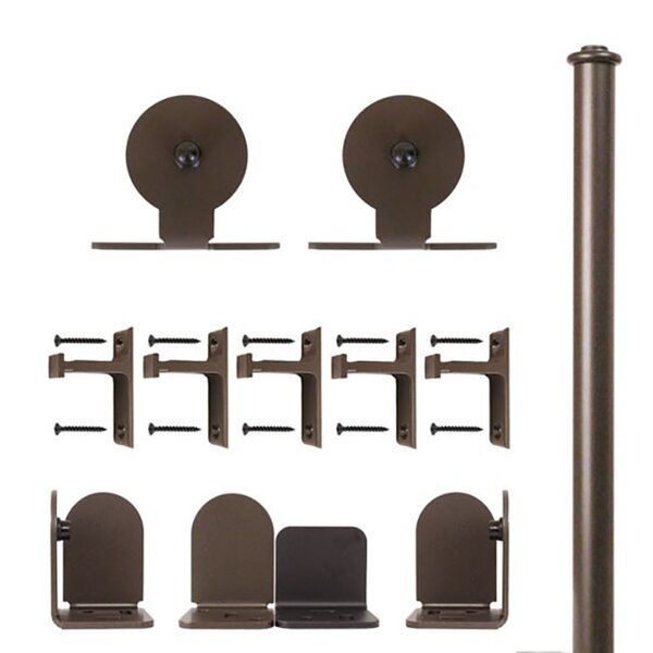 Top Mount Barn Door Hardware Kit by Quiet Glide