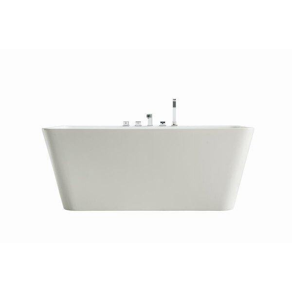 Freestanding Soaking Bathtub by Streamline Bath