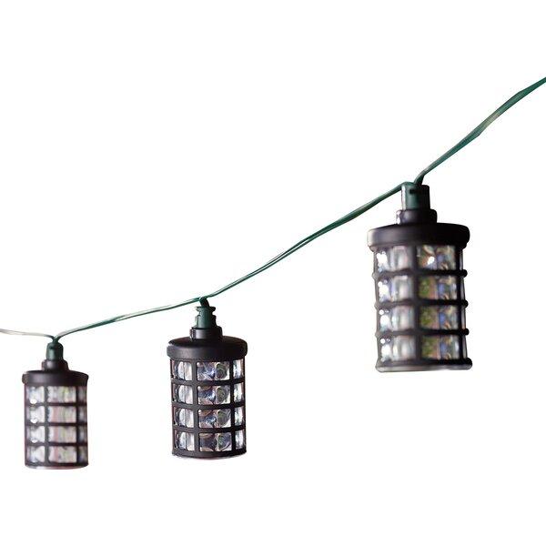 Solar 20-Light 14.75 ft. Lantern String Lights by Smart Solar