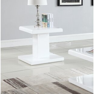 Read Reviews JeVon End Table By Orren Ellis