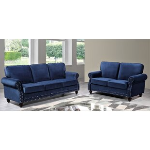 Fehr 2 Piece Living Room Set by House of Hampton®