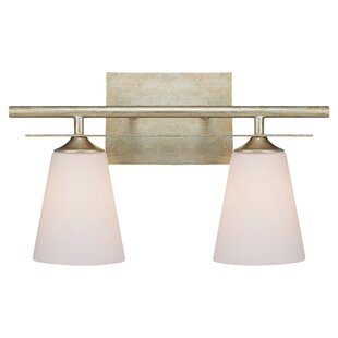 Compare prices Rumbaugh 2-Light Vanity Light By Latitude Run