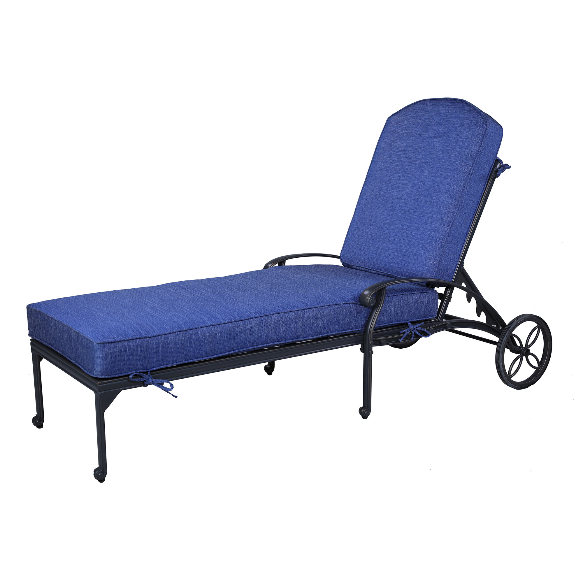 - Quintin Single Reclining Chaise Lounge With Cushion & Reviews