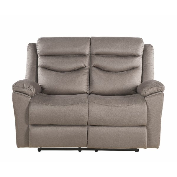 New Collection Itasca Reclining Loveseat by Ebern Designs by Ebern Designs