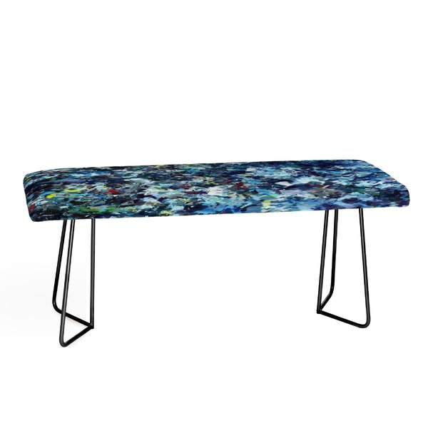 Paul Kimble After Jackson Faux Leather Bench by East Urban Home