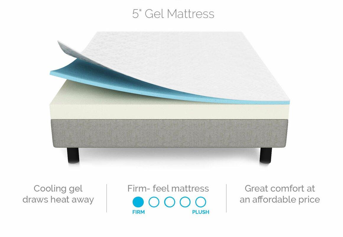 lucid 5 firm gel memory foam mattress reviews. Black Bedroom Furniture Sets. Home Design Ideas