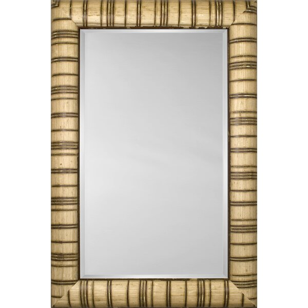 Mirror Style 81126 - Bullnose Ivory with Carmel Stripe by Mirror Image Home