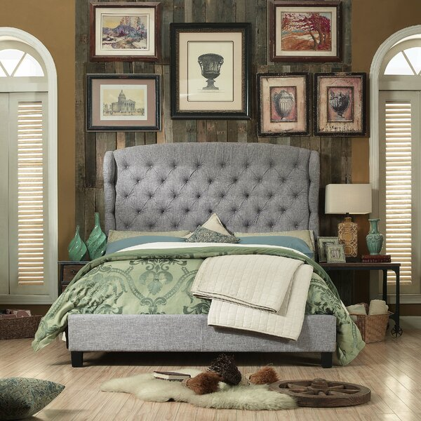 Threadgill Queen Upholstered Standard Bed by Charlton Home