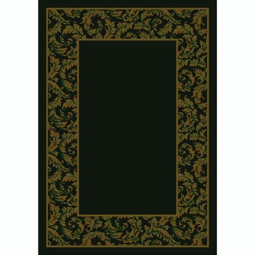 Design Center Dark Chocolate Corinthius Area Rug by Milliken