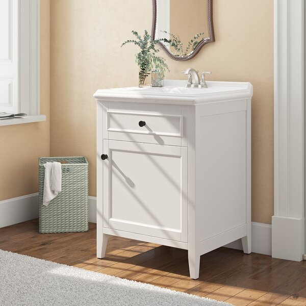 Gessner 24 Single Bathroom Vanity Set by Three Posts