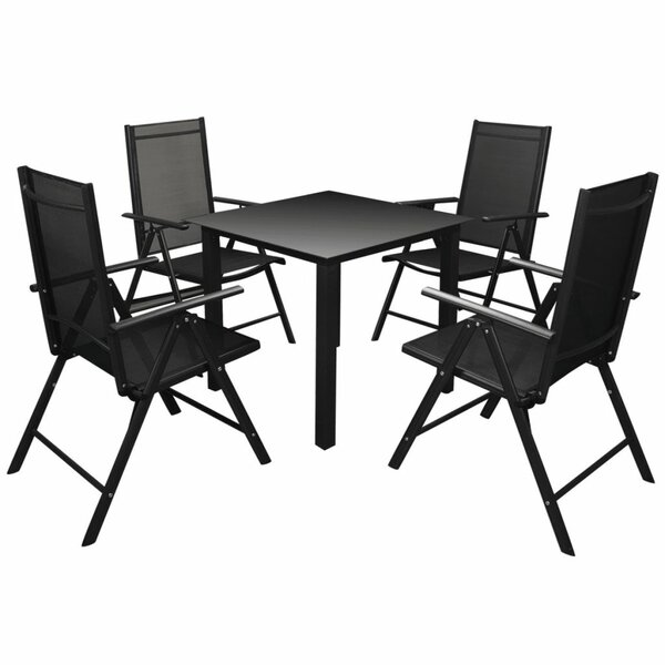 Coney 5 Piece Dining Set by Winston Porter
