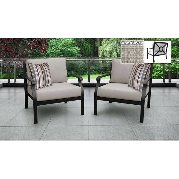 Kathy Ireland Madison Ave. 2 Piece Sectional Seating Group with Cushions (Set of 2) by kathy ireland Homes & Gardens by TK Classics
