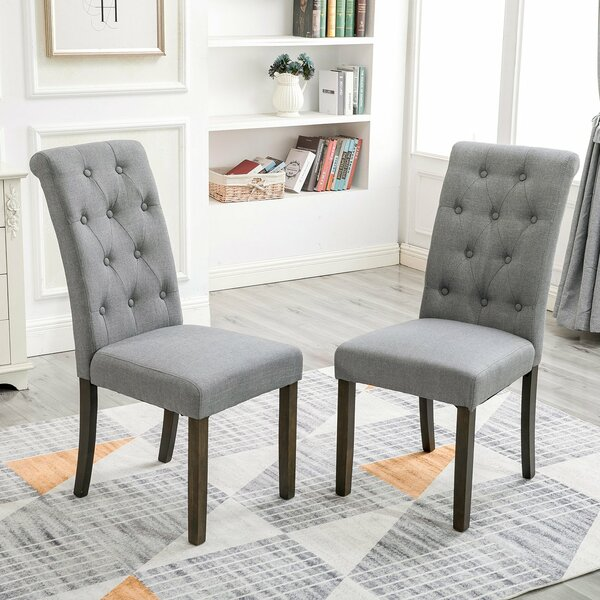 Ammerman Tufted Upholstered Dining Chair (Set Of 2) By August Grove