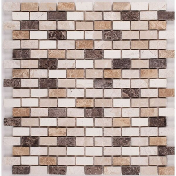 0.63 x 1.25 Mosaic Tile in Diana Royal by Ephesus Stones