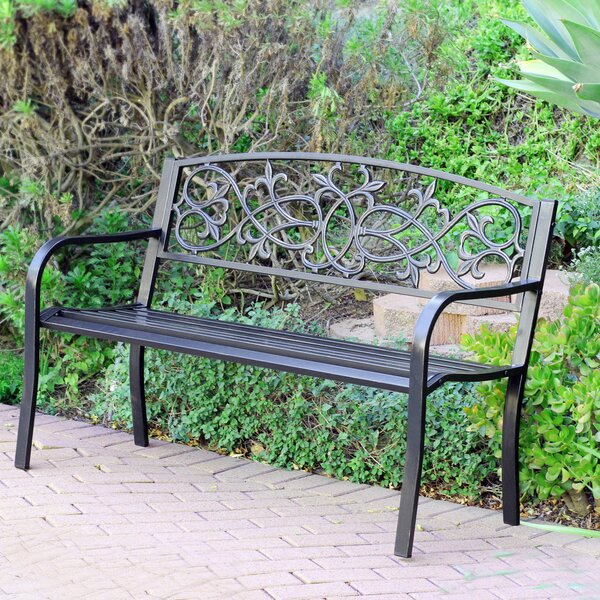 Lilah Park Bench by August Grove