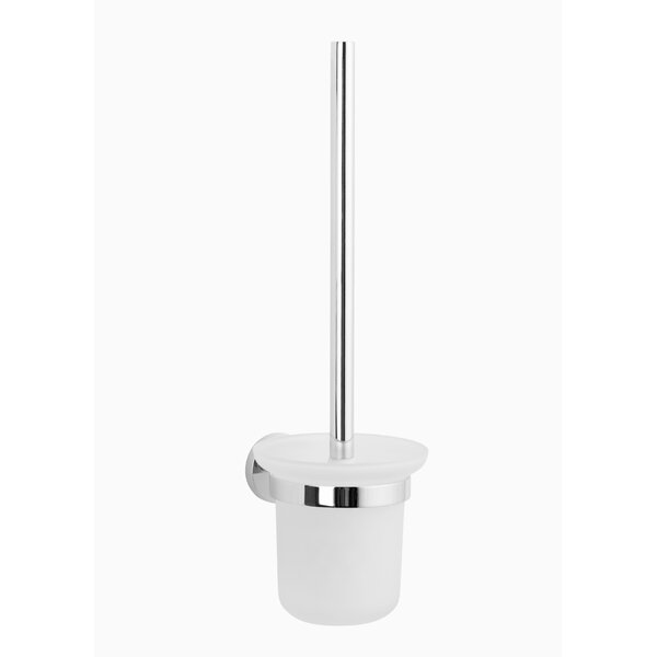 Nob Hill Wall Mounted Toilet Brush Holder by MaykkeNob Hill Wall Mounted Toilet Brush Holder by Maykke