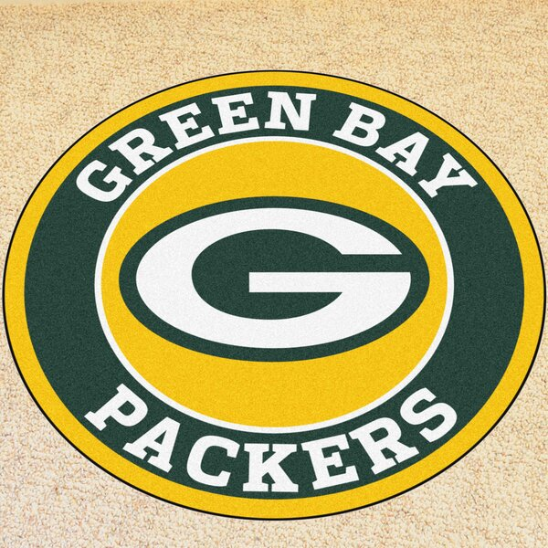 NFL Green Bay Packers Roundel Mat by FANMATS