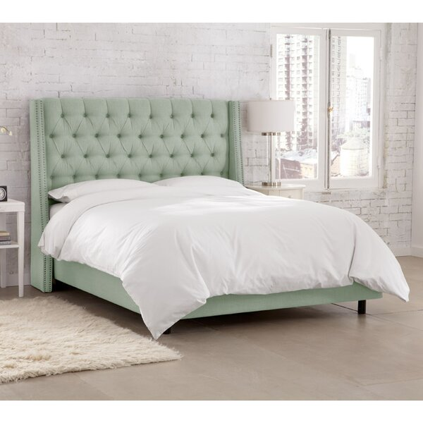 Kennedy Upholstered Standard Bed by Skyline Furniture