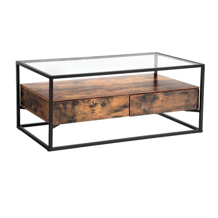 Classen Frame 1 Coffee Table with Storage