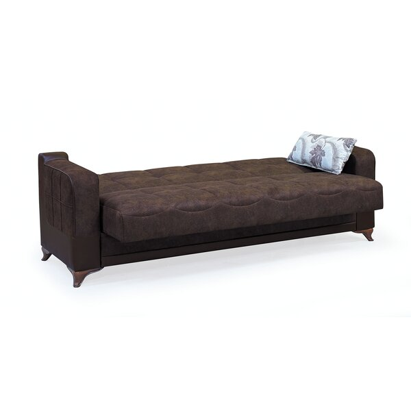 Tevrat Microfiber/Microsuede 89'' Square Arm Sofa By Red Barrel Studio