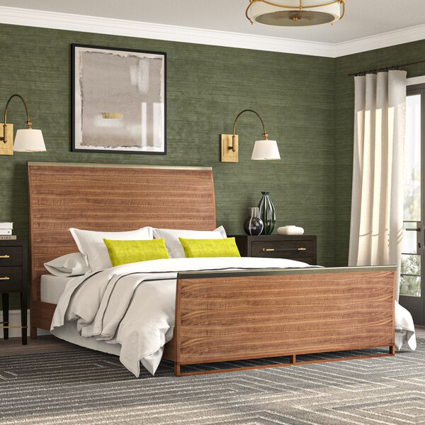 Craftsman Sleigh Bed by Caracole Modern