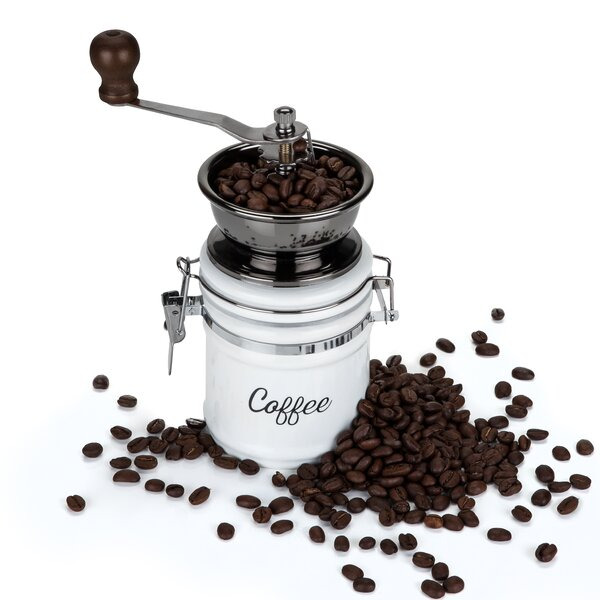 Ceramic Manual Burr Coffee Grinder by Twine