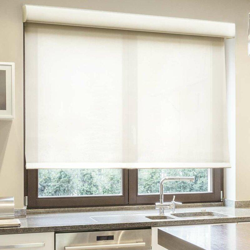 chicology room darkening roller shade reviews wayfair. Black Bedroom Furniture Sets. Home Design Ideas