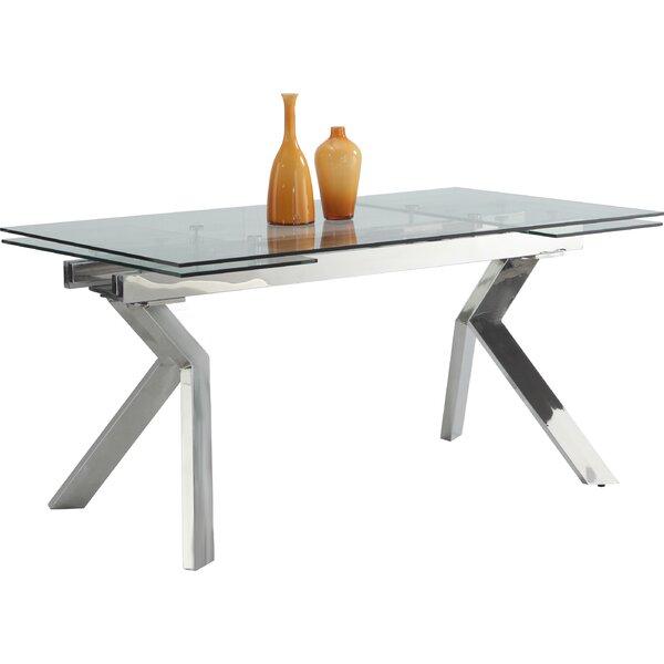Lasker Extension Dining Table by Orren Ellis Orren Ellis