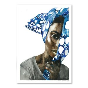 African Pride 1 Painting Print by East Urban Home