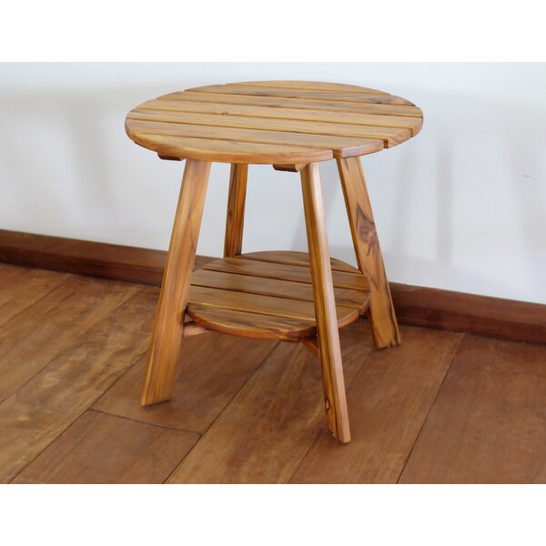 Norfolk Teak Side Table By Masaya Co